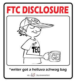 FTC disclosure writer got mug - Sjoerd Blok Blog