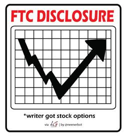 FTC disclosure writer got stock options - Sjoerd Blok Blog