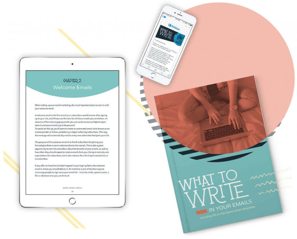 What to Write in Your Emails (Free Guide from AWeber)