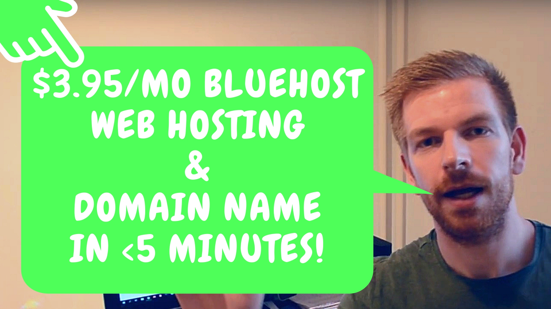 Affiliate Marketing (Step By Step) - Web Hosting & Domain Names With Bluehost Under 5 Minutes